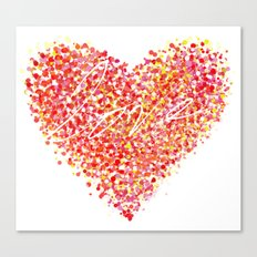 Love is Colorblind Canvas Print