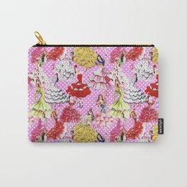 FLAMENCA POP PINK Carry-All Pouch