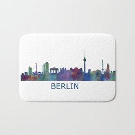 Berlin City Skyline HQ Bath Mat