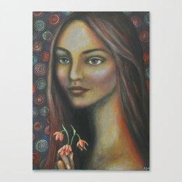 Eleanor Bronze Canvas Print