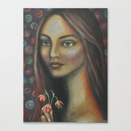 Eleanor Bronze Canvas Print