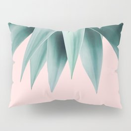 Agave fringe - blush Pillow Sham