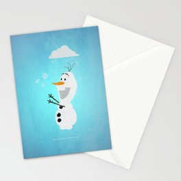 Olaf (Frozen) Stationery Cards