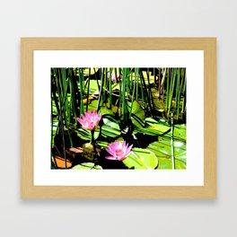 The Pond I Framed Art Print