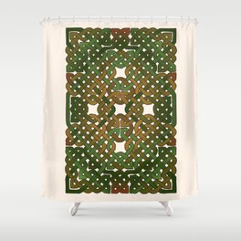 Celtic Forest Shower Curtain