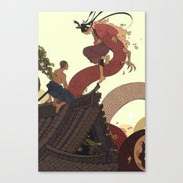 Tell a Dragon Truths Canvas Print