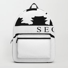 seoul skyline Backpack