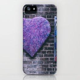 Woven Heart iPhone Case