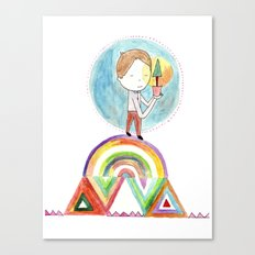 Future boy Canvas Print