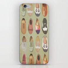 Oxfords iPhone & iPod Skin