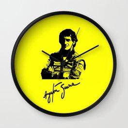 Senna Tribute Wall Clock
