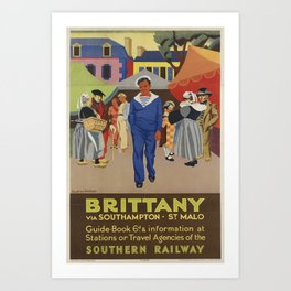 poster Britany Art Print
