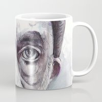 creepy Mugs featuring Creepy by MarcinLichota