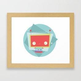 Robot Error! Framed Art Print