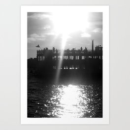 Ferry Boat Art Print