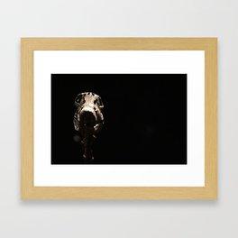 Dino-Skel Framed Art Print