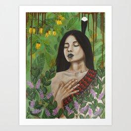 Ahurewa Art Print