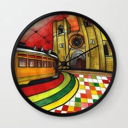 Lisbon 28 Wall Clock
