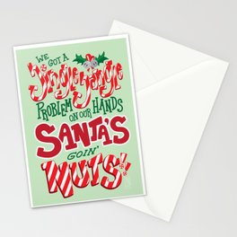 Santa's Goin' NUTS! Stationery Cards