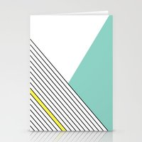 minimal Stationery Cards featuring MINIMAL COMPLEXITY by .eg.