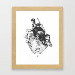 Behelit Framed Art Print