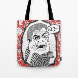 Count. Tote Bag