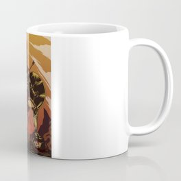 Spartan Warrior Triumphs Over His Enemies Coffee Mug