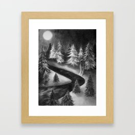 Winter Ghost Framed Art Print