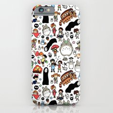 Kawaii Ghibli Doodle Slim Case iPhone 6