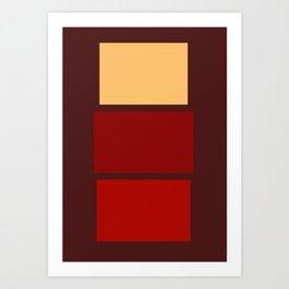 Iconic Painters: Mark Rothko Art Print