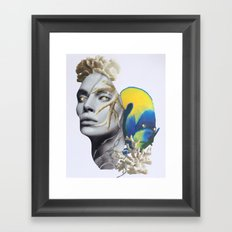 The Great Relief Framed Art Print