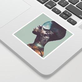 Portrait (Nature) 2 Sticker
