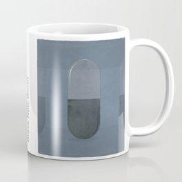 "Aldous Huxley ""Brave New World"" - Minimalist illustration literary design, bookish gift Coffee Mug"