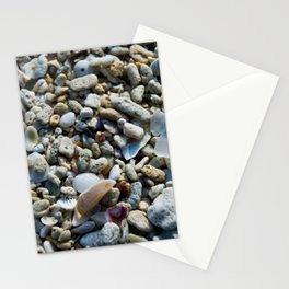 Coral and Sea Glass Stationery Cards