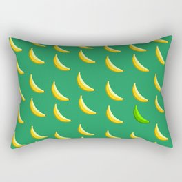 Bananas abide. Rectangular Pillow