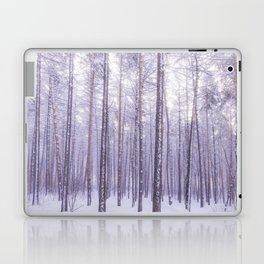 Snow in Trees Laptop & iPad Skin