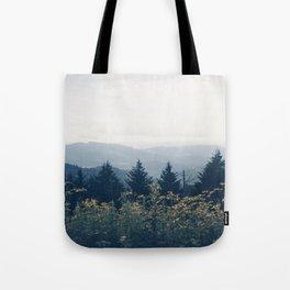 the mountain air Tote Bag
