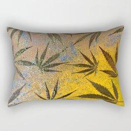Cannabis leaves Rectangular Pillow