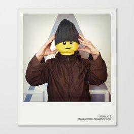 Minifig me ! – Everyone has a LEGO piece inside - 6 Canvas Print