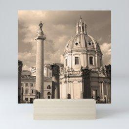 Rome Italy Neck Gator Saint Peters Basilica Rome Mini Art Print