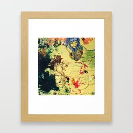 Summer Sand Framed Art Print