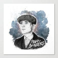 Tommy Shelby Canvas Print