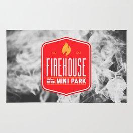 Firehouse Mini Park Rug
