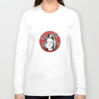 tenenbaum Long Sleeve T-shirts featuring Margot Tenenbaum by Ester Dus
