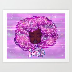 Muthaboard Art Print