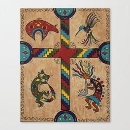 Southwestern Cross Canvas Print