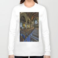 christ Long Sleeve T-shirts featuring Christ Church by Ian Mitchell