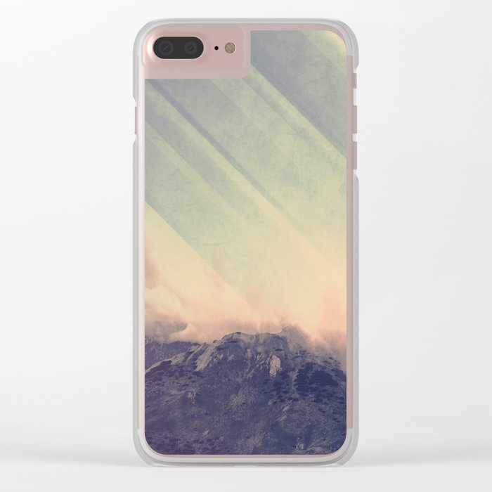 Enlightenment Clear iPhone Case