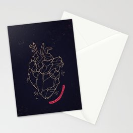 Heart stone Stationery Cards