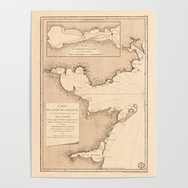 Gulf O St Lawrence 1780 Poster